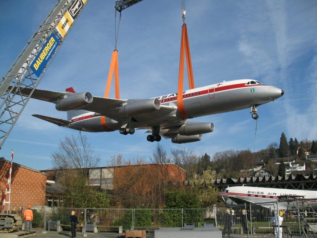Convair CV990A Coronado HB-ICC